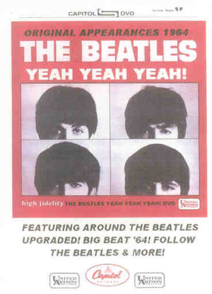 DVD The Beatles - Yeah , Yeah , Yeah !