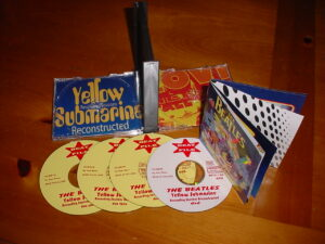 The Beatles - Yellow Submarine Recording Sessions Reconstructed ( 3 CD 1 DVD  + 12 pages Booklet )