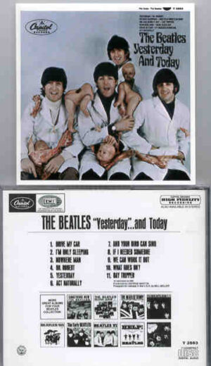 The Beatles - Yesterday and Today  ( Butcher's Cover )(  Capitol Mono )