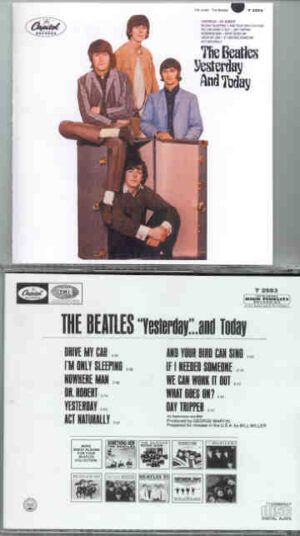 The Beatles - Yesterday and Today  ( Trunk Cover ) (  Capitol Mono )