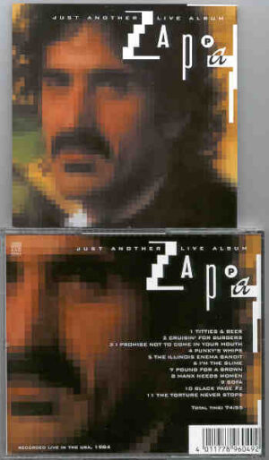Frank Zappa - Just Another LIVE Album ( Recorded Live in the USA , 1984 )