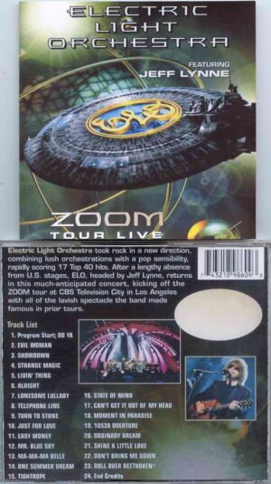 Electric Light Orchestra - Zoom Tour Live ( 2 CD!!!!! SET ) ( Los Angeles CBS Television City ,2001 )