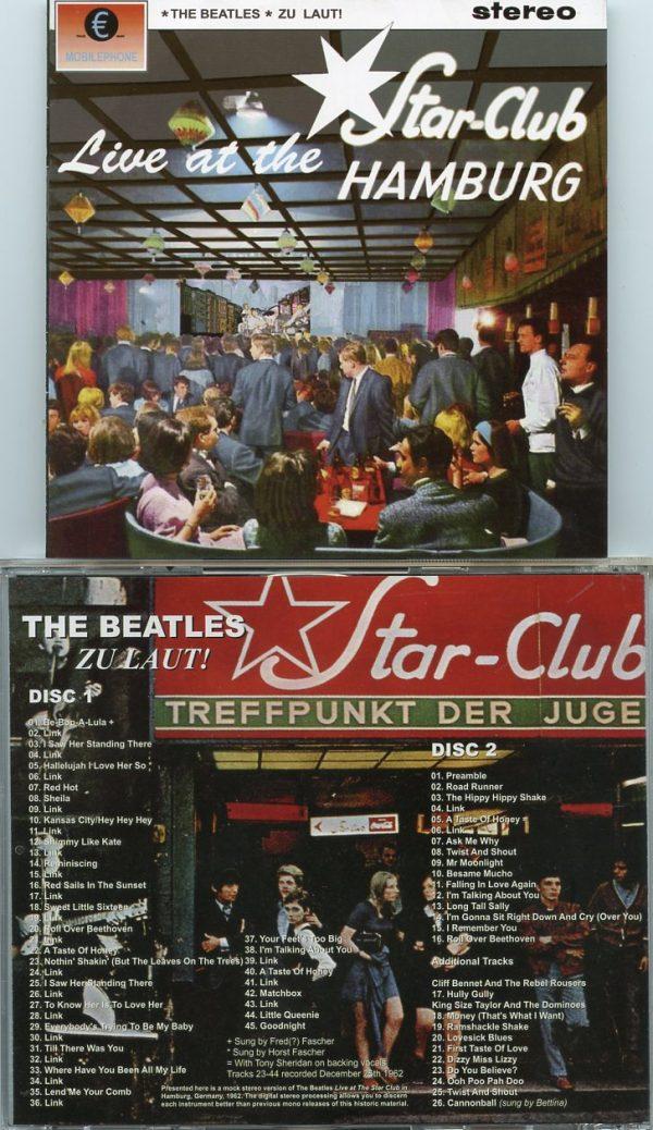 The Beatles - Zu Laut ! Live At The Star Club Hamburg ( 2 CD!!!!! ) ( 2015 MP Records )
