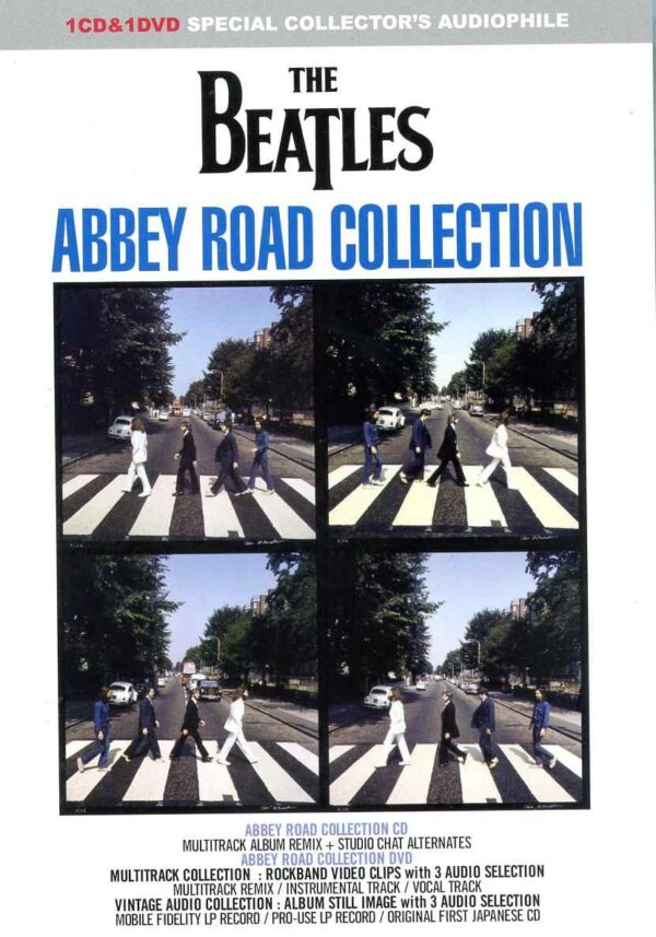 The Beatles – Abbey Road Collection (1 CD + 1 DVD)