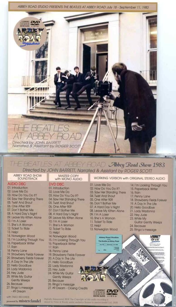The Beatles – At Abbey Road 1983 – Misterclaudel (1 CD + 1 DVD)