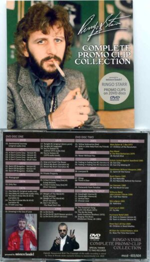 Ringo Star – Complete Promo Clip Collection (2 DVD)