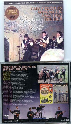 Early Beatles Around U.K. 1962 – 1963 The Film (DVD)