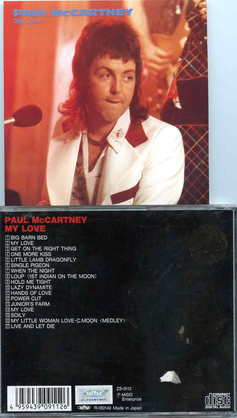 Paul McCartney My Love