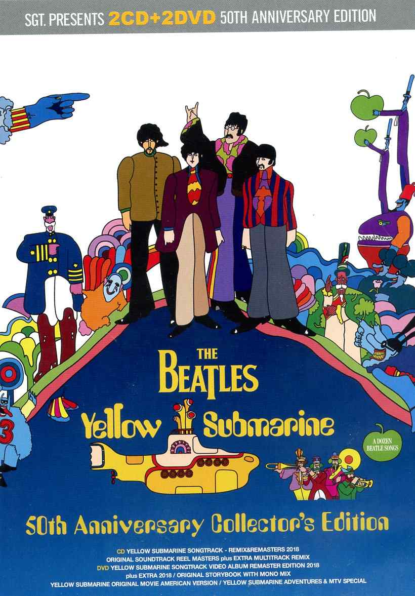 The Beatles – Yellow Submarine – 50th Anniversary Collector´s Edition (2 CD  + 2 DVD)