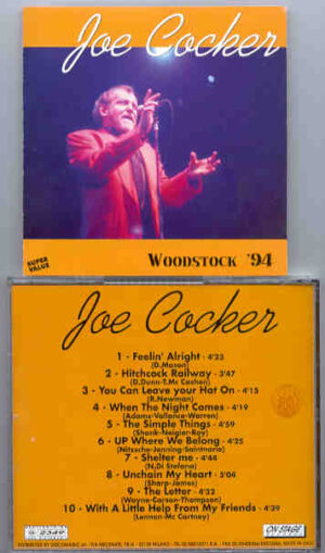 Joe Cocker - Woodstock '94 ( On Stage Recs )