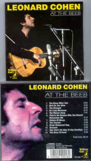 Leonard Cohen - At The Beeb ( Yellow Dog )