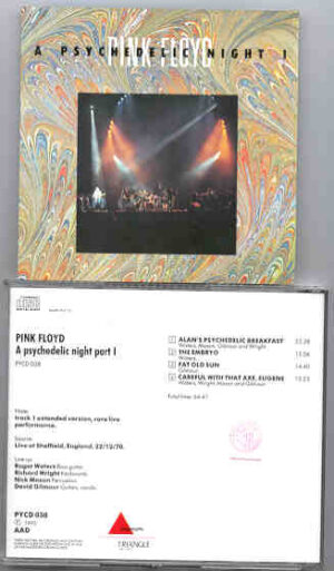 Pink Floyd - A Psychedelic Night  Part One ( Triangle ) ( Live at Sheffield , England , December 22nd , 1970 )