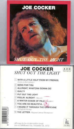 Joe Cocker - Shut Out The Light ( Oil Well )