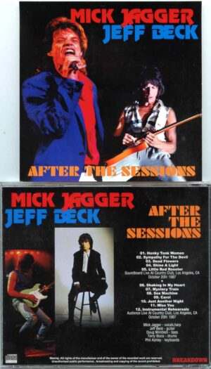 Rolling Stone - After The sessions ( With Jeff Beck Soundboard & Audience Live at Country Club , Los Angeles , CA , October 20th 1987 )