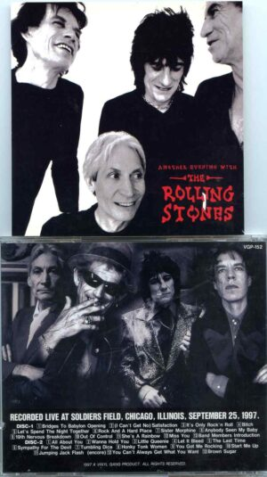 Rolling Stone - Another Evening With ( 2 CD ) ( Vinyl Gang ) ( Soldiers Field , Chicago , IL , USA , September 25th , 1997 )