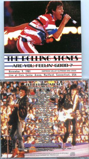 Rolling Stone - Are You Feelin' Good ? ( 2 CD ) ( Live at Civic Center Arena , Hartford , Connecticut , USA , November 9th , 1981 )