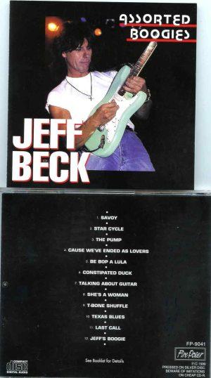 Jeff Beck - Assorted Boogies ( Rio de Janeiro 1998 , New York , USA 1998 , BBC Studio 1975 , Hawaii 1984 )