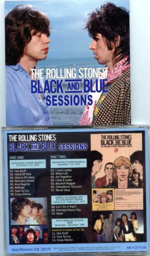 Rolling Stone - Black And Blue Sessions ( 2 CD ) ( MAYFLOWER ) ( Studio Sessions Musicland Studios , Germany , Dec 1975 )