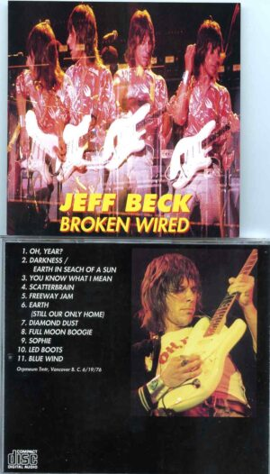 Jeff Beck - Broken Wired ( Live at Orpheum Theatre , Vancouver , Canada , June 19th , 1976 )