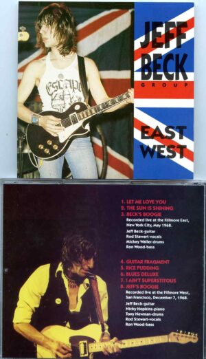 Jeff Beck - East West ( With Ron Wood & Rod Stewart Live at Fillmore East , May 1968 & Fillmore West December 7th , 1968 )