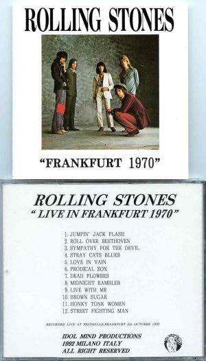 Rolling Stone - Frankfurt 1970  ( Idol Mind ) ( Live at Festhalle , Frankfurt , October 5th , 1970 )