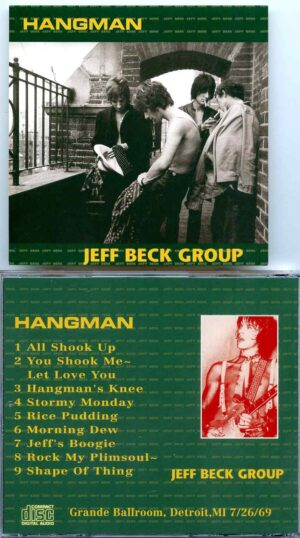 Jeff Beck - Hangman ( Live at Grande Ballroom , Detroit , MI , USA , July 26th , 1969 )