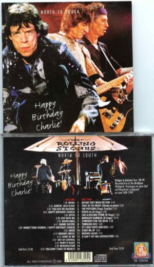 Rolling Stone - Happy Birthday Charlie ! ( 2 CD ) ( Drafbaan Stadspark , Gronigen , June 2nd & Megaland Landgraaf on June 18th '99 )