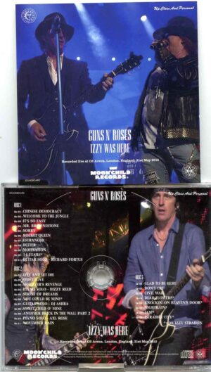 Guns And Roses - Izzy Was Here (3 CD SET ) ( Live at The 02 Arena , London , England , May 31st , 2012 )