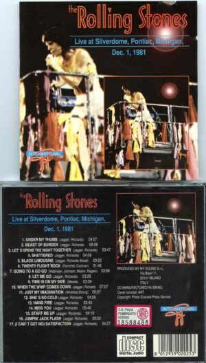 Rolling Stone - Live in Michigan 1981 ( Live at Silverdome , Pontiac , Michigan , USA , December 1st , 1981 )