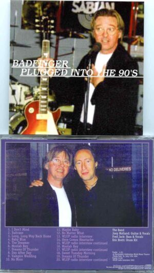 Bad Finger - Plugged Into The 90's ( World Music Theatre , Tinley Park , IL , July 17th , 1994 & WLUP Radio 1993 )