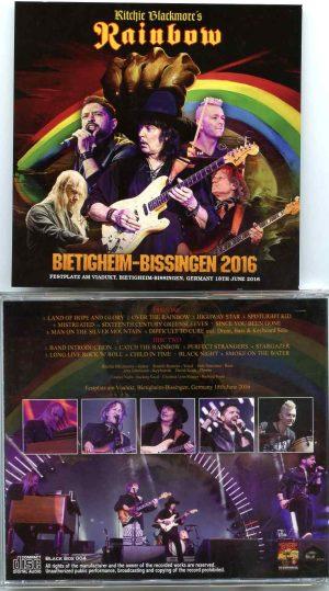 Rainbow - Bietigheim Bissingen 2016 ( 2 CD ) ( At Eestplatz Am Viaduct ,Bietigheim Bissingen , Germany June 18th , 2016 )