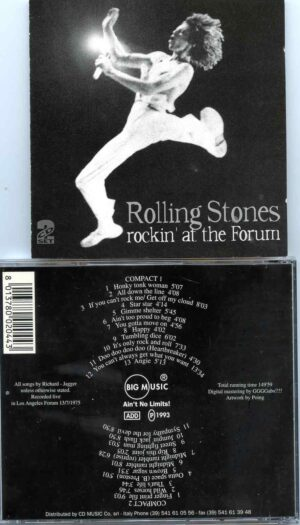 Rolling Stone - Rocking At The Forum ( 2 CD ) ( Live at Los Angeles Forum , Los Angeles , CA , USA , July 13th , 1975 )