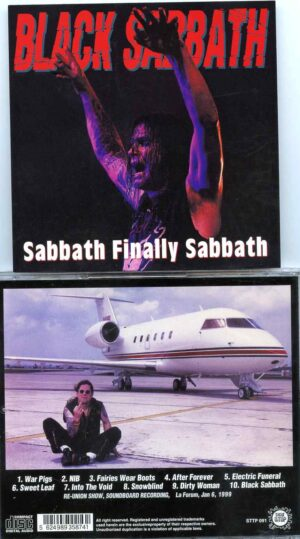 Black Sabbath - Sabbath Finally Sabbath ( STTP ) ( Re-Union Show Soundboard recording , LA Forum , Jan 6th , 1999 )