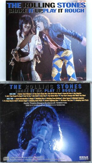 Rolling Stone - Shake It Up Play It Rough ( 2 CD ) ( Apollo Theatre , Glasgow , Scotland , UK , May 10th , 1976 + Unreleased LA '76 )