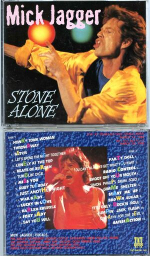 Rolling Stone - Stone Alone ( 2 CD ) ( Mick Jagger Live at Osaka Jo Hall , Japan , March 15th & 28th , 1998 )