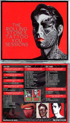 Rolling Stone - Tattoo You Sessions ( 3 CD SET ) ( MAYFLOWER ) ( Tattoo You Studio Recording Sessions )