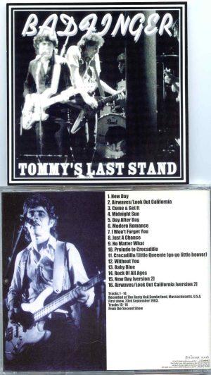 Bad Finger - Tommy's Last Stand ( Rusty Nail , Sunderland , Massachusetts , USA , Sept 23rd , 1983 )
