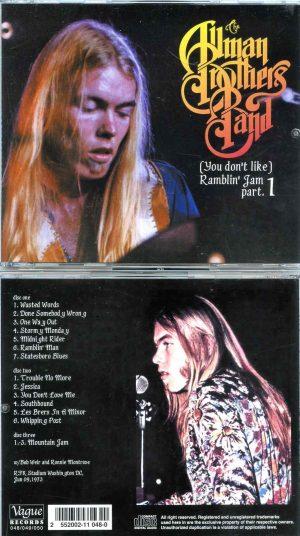 Allman - ( You Don't Like ) Ramblin' Jam Part 1 ( 3 CD SET )( RFK Stadium , Washington , DC , USA , June 9th , 1973 )