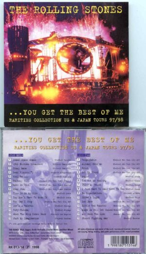 Rolling Stone - You Get The Best Of Me ( 2 CD ) ( Rarities Collection US & Japan Tours 97/98 )