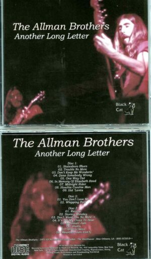 Allman Brothers- Another Long Letter ( 3 CD SET ) ( Soundboard from The Warehouse , New Orleans , LA , USA , March 20th , 1971 )