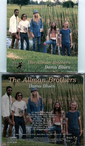 Allman Brothers- Bama Blues ( Soundboard from Price Hall , Jackson , Alabama , USA March 23rd , 1972 )