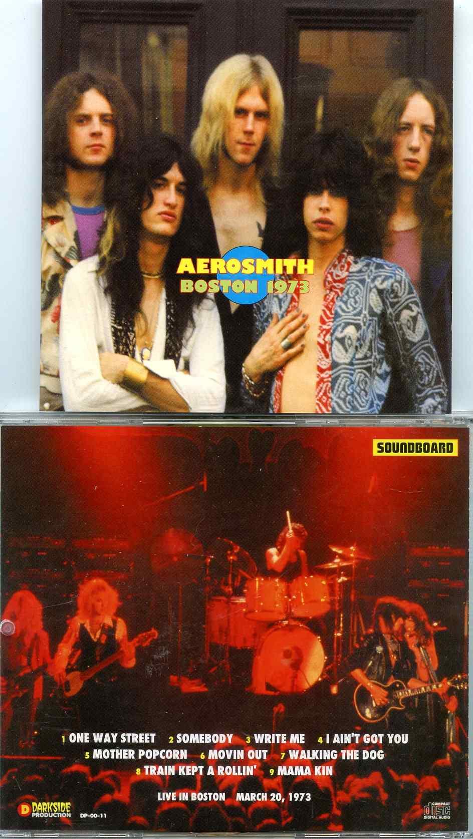 Aerosmith- Boston 1993 ( Recorded Live in Boston , MA , USA , March 20th 1973 )