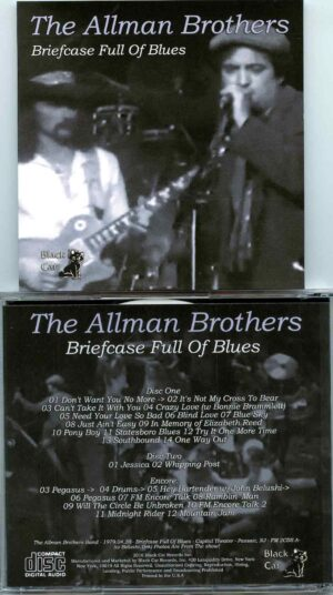 Allman Brothers- Briefcase Full Of Blues ( 2 CD SET ) ( FM from Capitol Theatre , Passaic , New Jersey , USA , April 20th , 1979 )