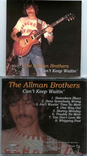 Allman Brothers- Can´t Keep Waiting ( Soundboard from Academy of Music , NYC , USA , April 16th 1972 )
