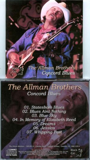 Allman Brothers- Concord Blues ( Soundboard from Concord Pavilion , Concord , CA , USA , August 10th , 1989 )