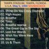 Pink Floyd - Dissapearing Bust Of Division ( 2 CD ) ( Shakuntala ) ( Tampa Stadium , Tampa , Florida , USA , May 5th , 1994 )