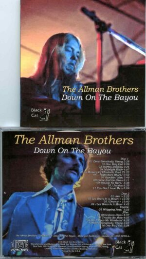 Allman Brothers- Down On The Bayou ( 2 CD SET ) ( Municipal Auditorium , Mobile , Alabama , USA , March 15th , 1973 )