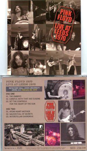Pink Floyd - Live At Leeds 1970 ( 2 CD ) ( Shakuntala ) ( Reflectory Hall , Leeds University , Leeds , UK , Feb 28th , 1970 )