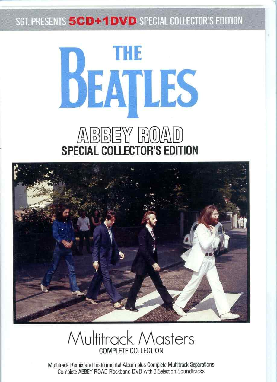 Abbey Road Special Collector´s Edition Multitracks Masters ( 2019 SGT ) ( 5 CDS - 1 DVD SET )