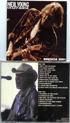 Brescia 2001 ( 2 CD SET ) ( Live at Piazza Duome, Brescia, Italy, July 9th, 2001 )